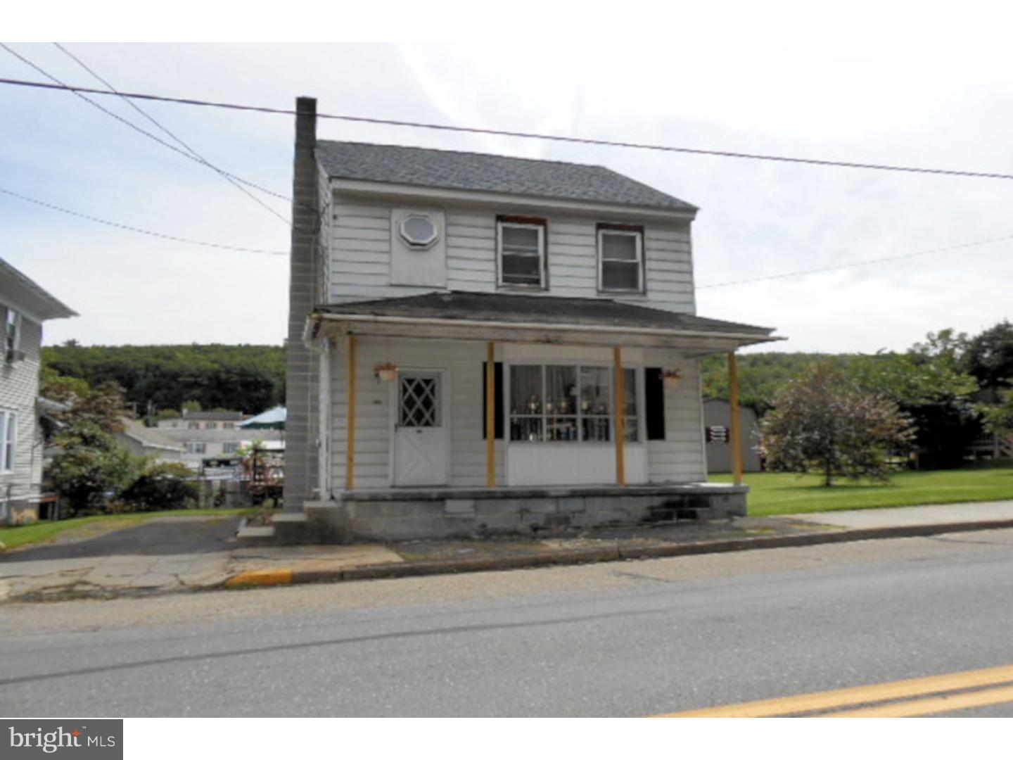 Single Family Home for Sale at 309 W MAIN Street Tremont, Pennsylvania 17981 United States