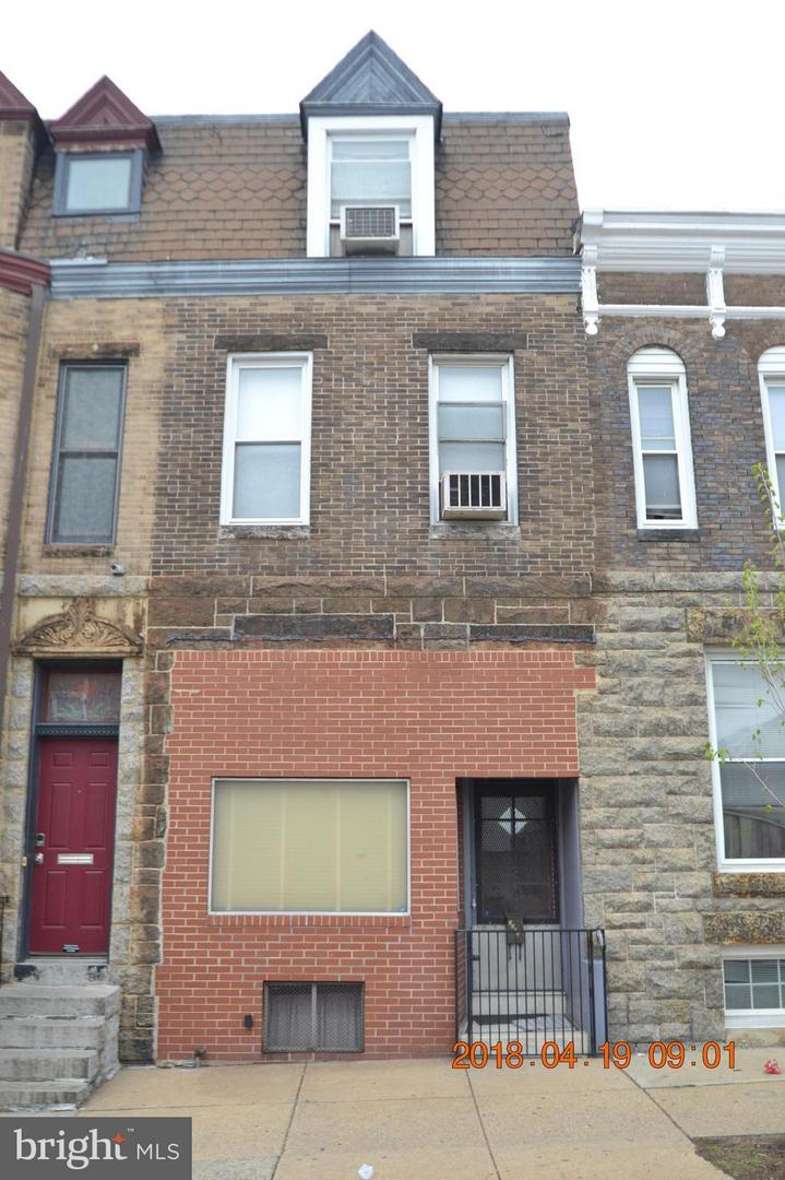 Single Family for Sale at 3208 Baltimore St E Baltimore, Maryland 21224 United States