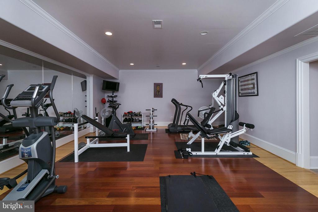 Gym - 9034 BRONSON DR, POTOMAC