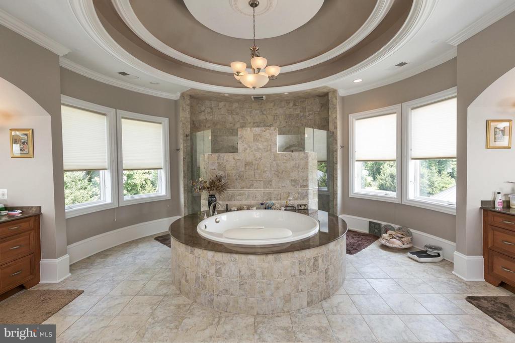 Bath (Master) - 9034 BRONSON DR, POTOMAC