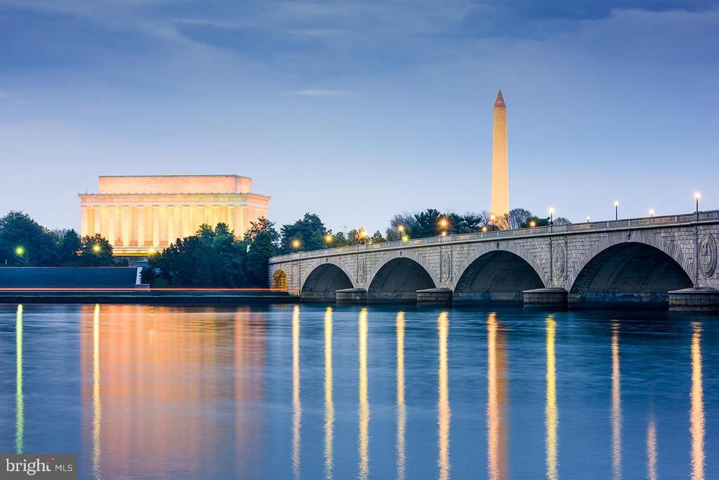 The Washington Monument and The Lincoln Memorial - 9034 BRONSON DR, POTOMAC