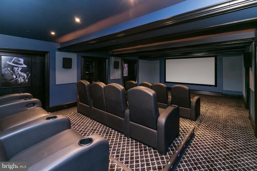 Home Theater - 9034 BRONSON DR, POTOMAC