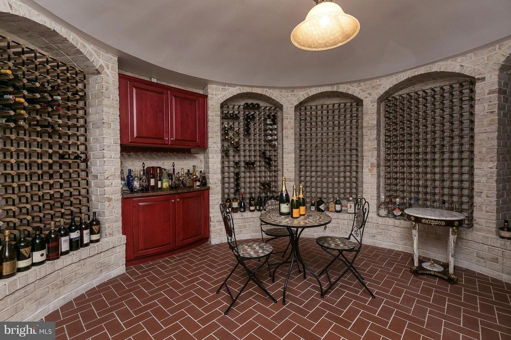 Wine Cellar - 9034 BRONSON DR, POTOMAC
