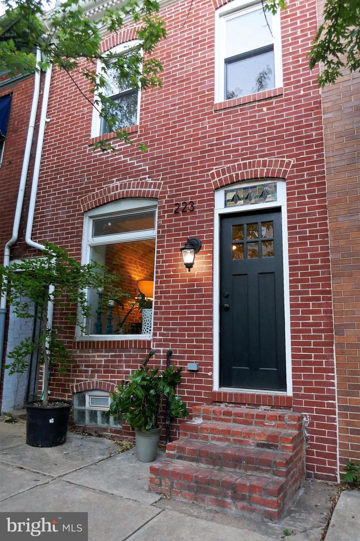 Single Family for Sale at 223 S Wolfe St Baltimore, Maryland 21231 United States