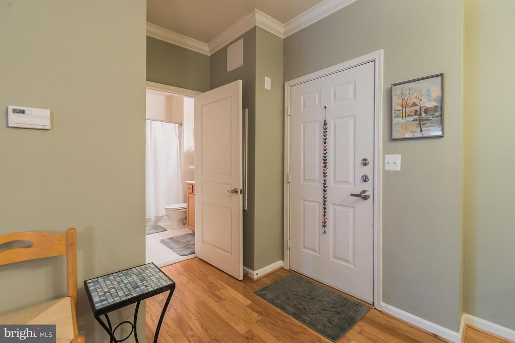 Unseen here - closet is just before bathroom entry - 12001 MARKET ST #152, RESTON