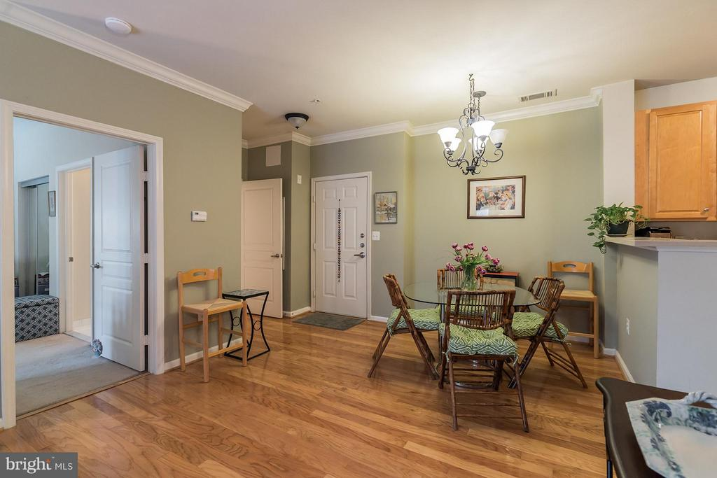Dining Area w/Bedroom Entrance to the Left - 12001 MARKET ST #152, RESTON