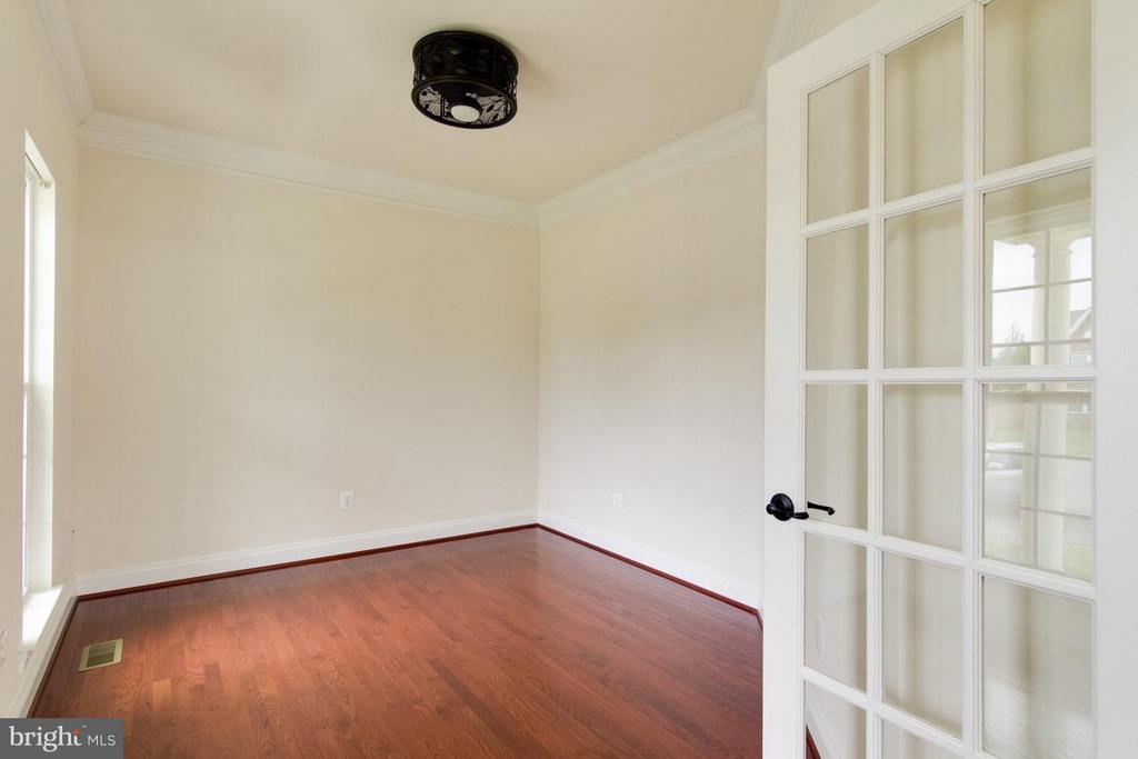 Office with French Doors - 5 KETTLEBROOK CT, STAFFORD