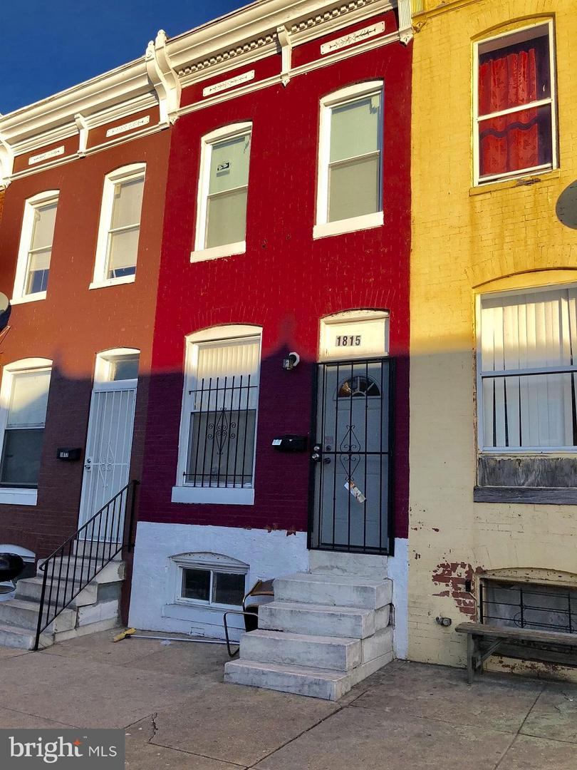 Single Family for Sale at 1815 Montford Ave Baltimore, Maryland 21213 United States
