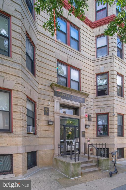 Exterior (Front) - 1436 W ST NW #204, WASHINGTON