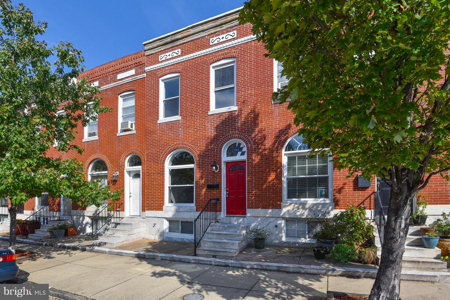 Photo of home for sale at 241 East Avenue S, Baltimore MD