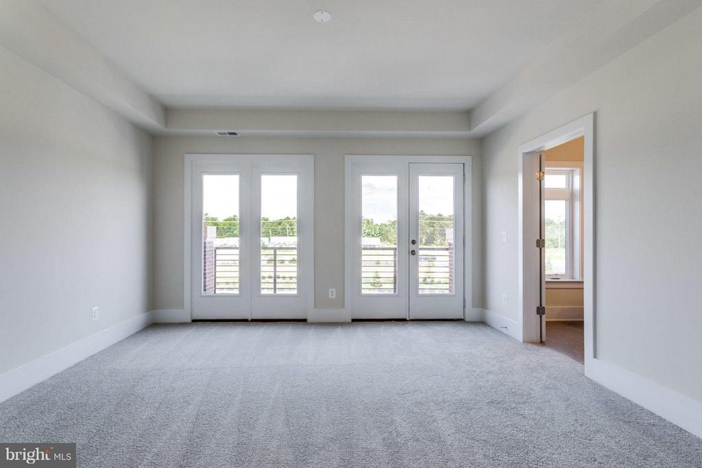 Bedroom (Master) - OLD LINE TERRACE- ARLINGTON, ASHBURN