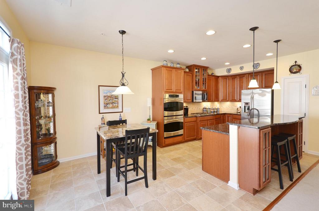 Gourmet Kitchen with Breakfast Room - 21627 ROMANS DR, ASHBURN