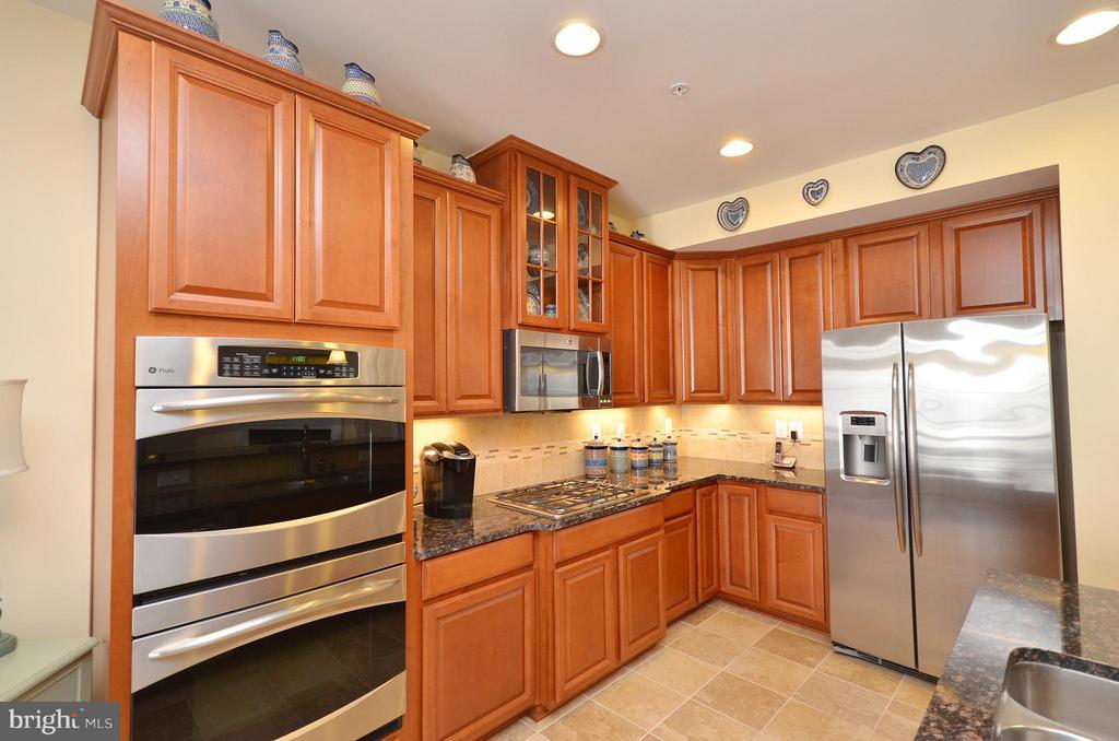 Gourment Kitchen with Stainless Steel Appliances - 21627 ROMANS DR, ASHBURN