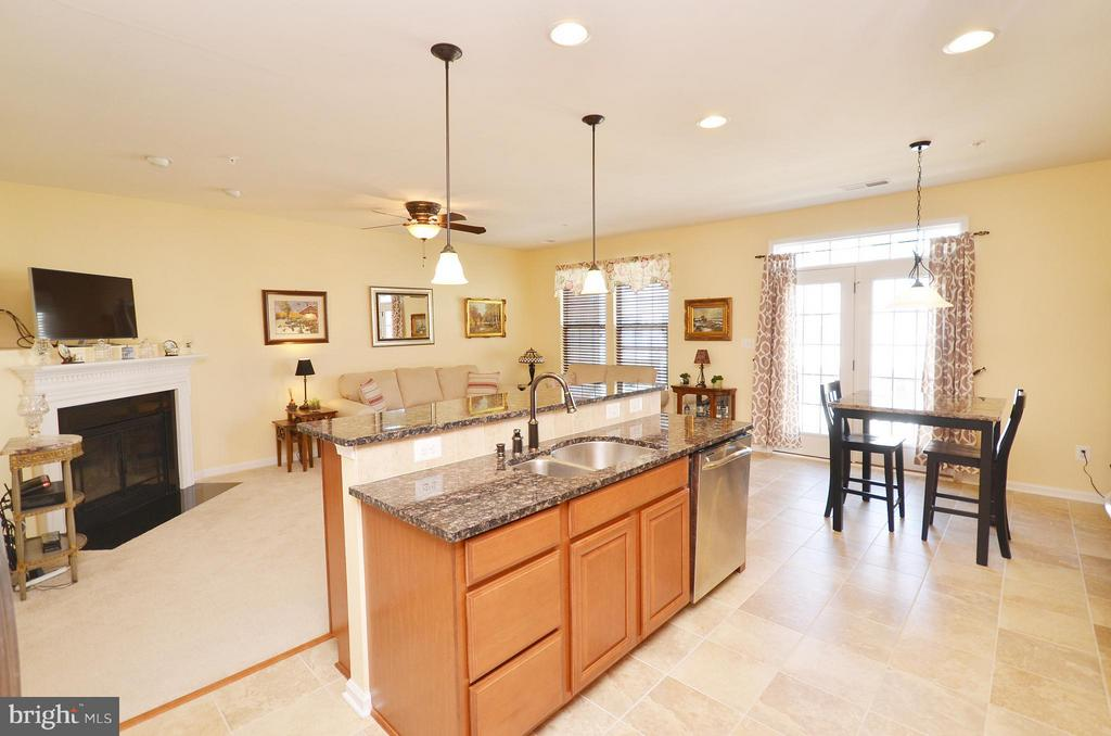 Gourmet Kitchen Overlooking Family Room - 21627 ROMANS DR, ASHBURN