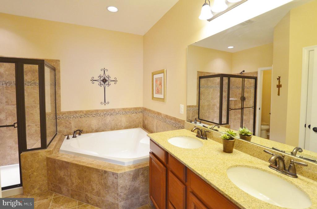 Luxury Master Bathroom - 21627 ROMANS DR, ASHBURN