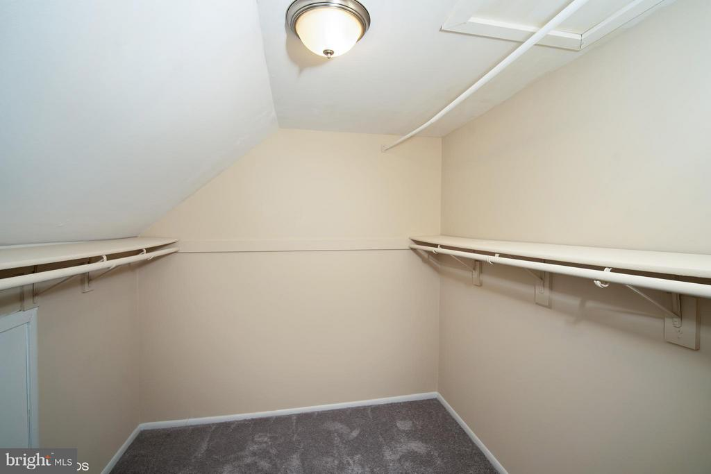 Walk in Closet - 11509 AMHERST AVE #201, SILVER SPRING