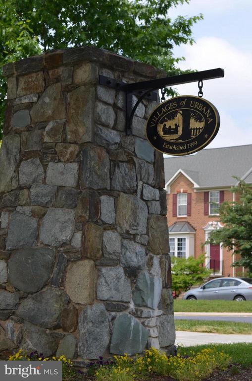 Urbana has beautiful amenities - 3626 SINGLETON TER, FREDERICK