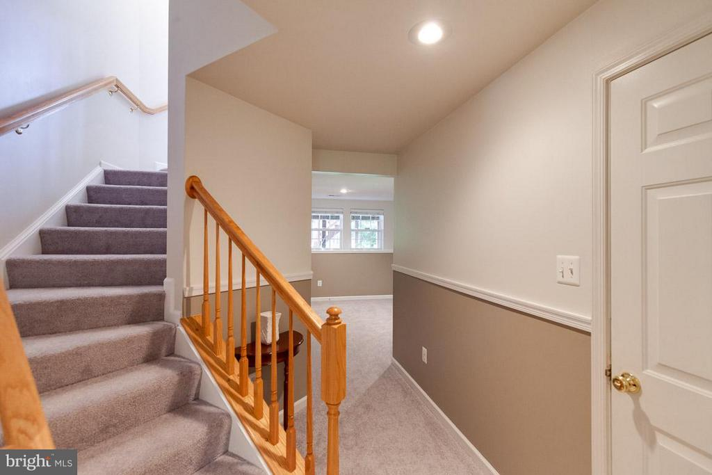 Walk in from garage to fully fin.  rec room - 3626 SINGLETON TER, FREDERICK