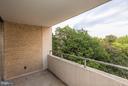 Balcony - 5500 FRIENDSHIP BLVD #1409N, CHEVY CHASE