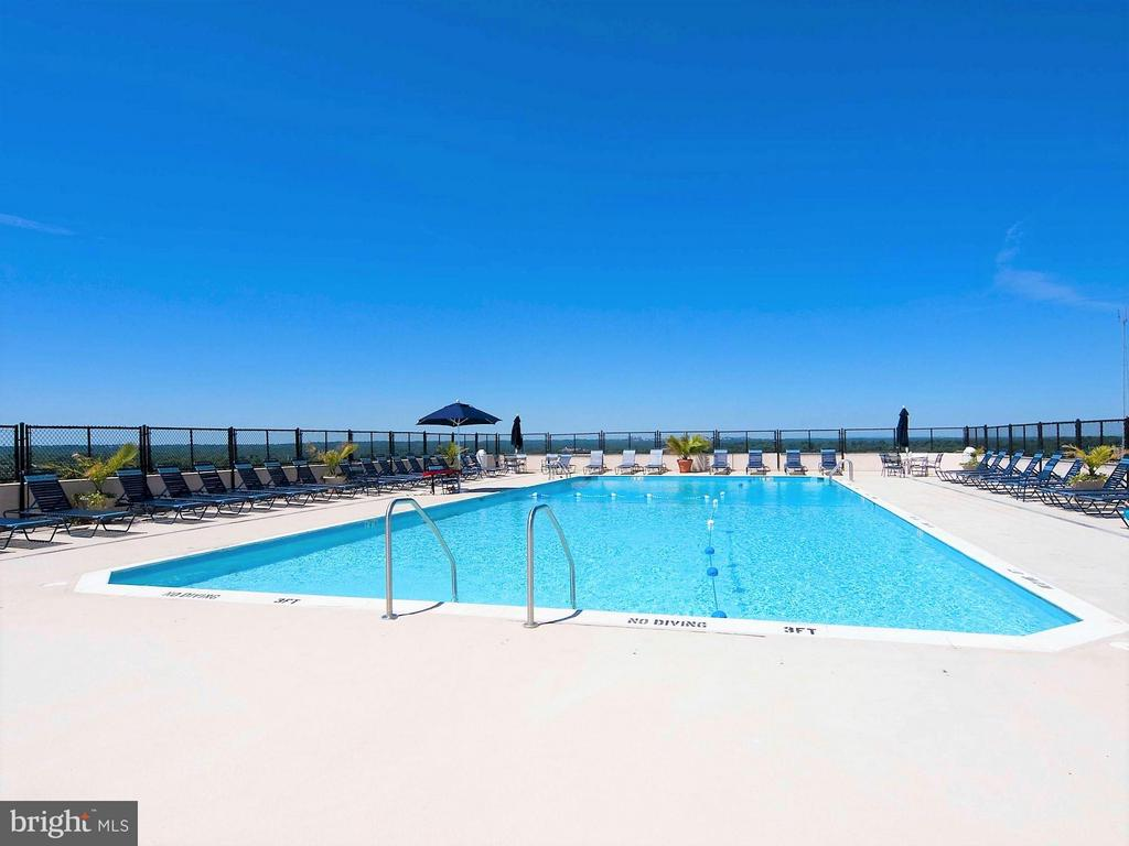 Pool - 5500 FRIENDSHIP BLVD #1409N, CHEVY CHASE