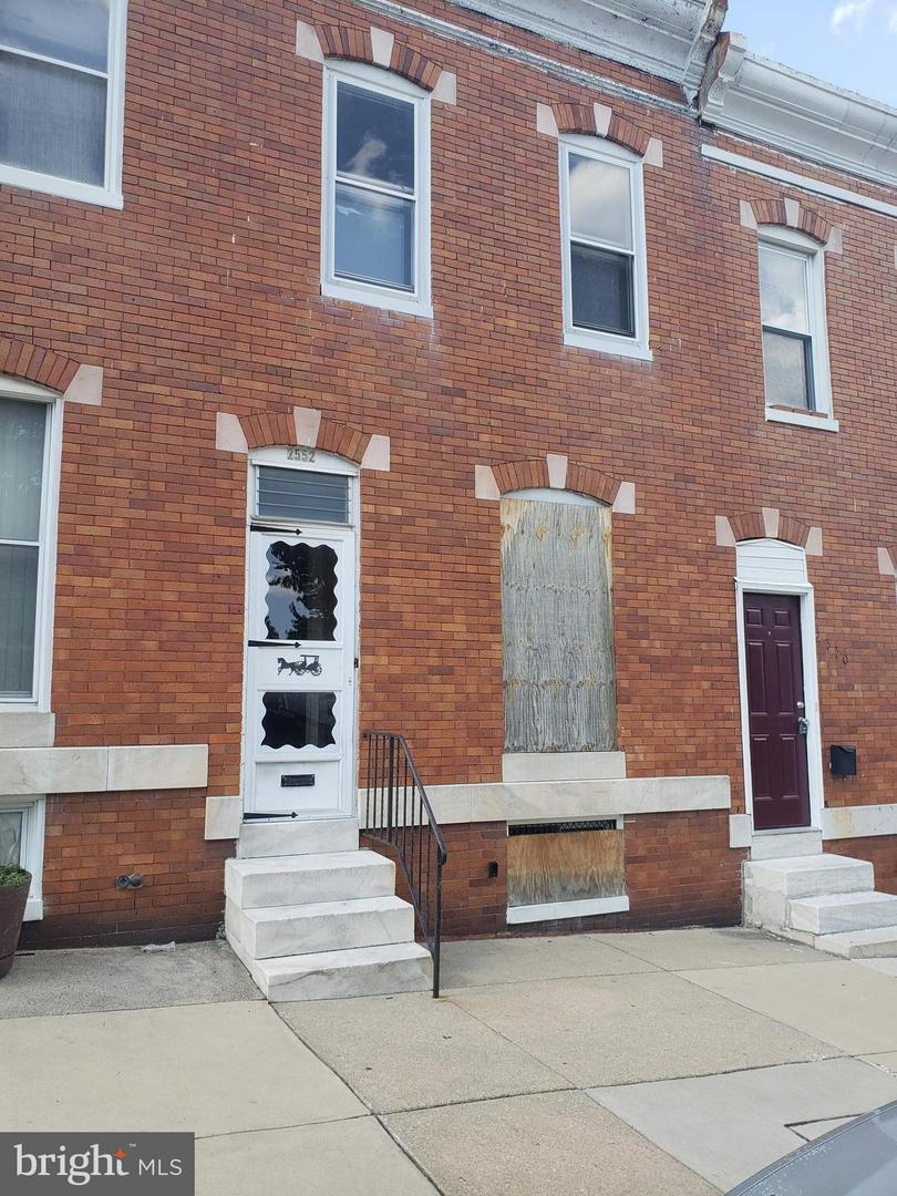 Photo of home for sale at 2552 Pratt Street W, Baltimore MD