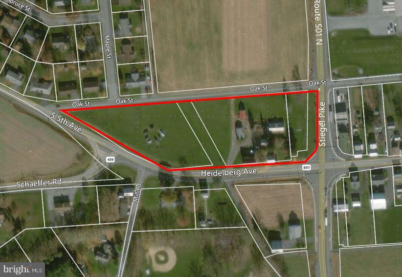 Land for Sale at 1048 & 1064 HEIDELBURG Avenue, Newmanstown, Pennsylvania 17073 United States