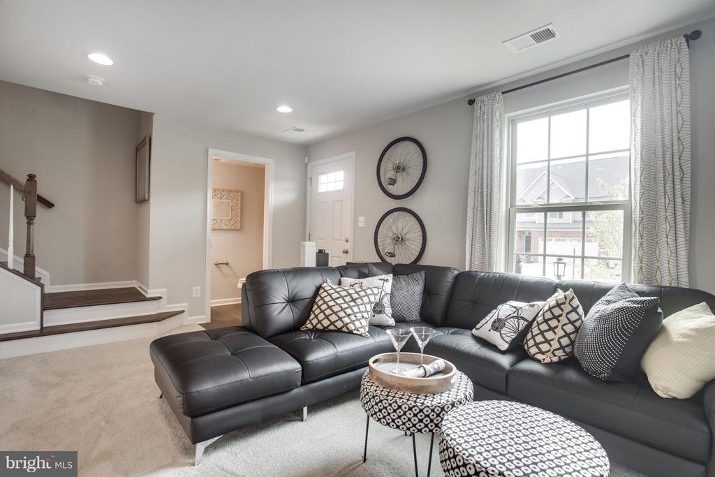 Living Room - 1030 RIVER HERITAGE BLVD, DUMFRIES