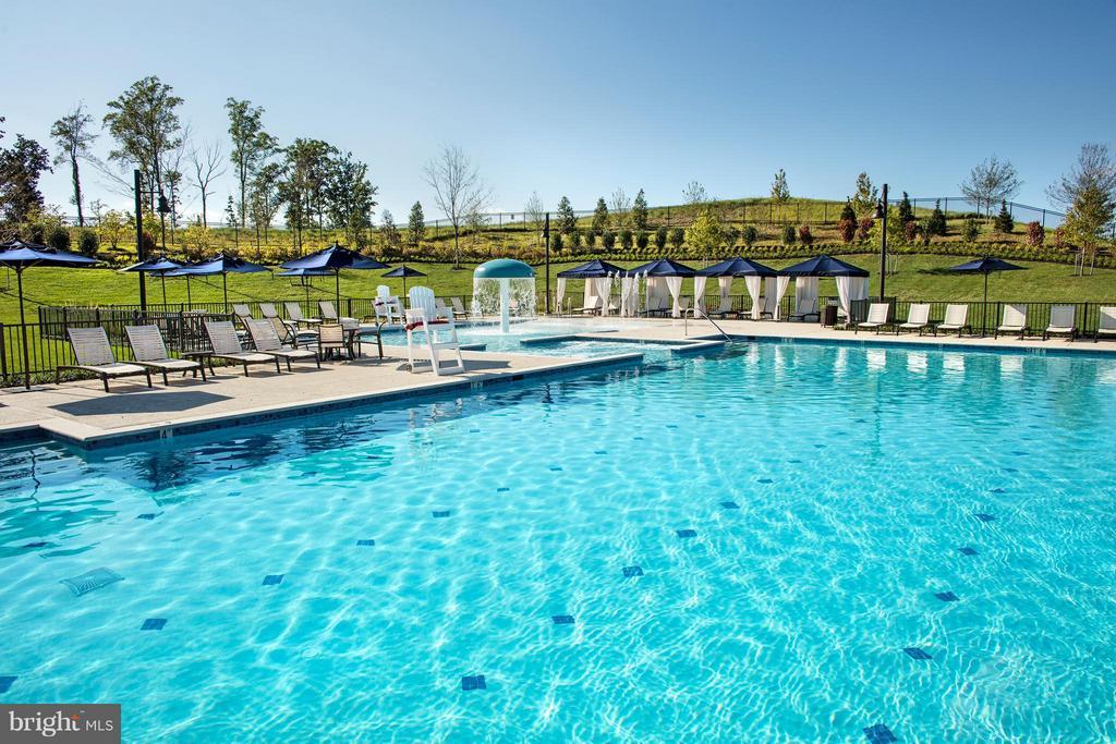 Recreational Pool - 1040 RIVER HERITAGE BLVD, DUMFRIES