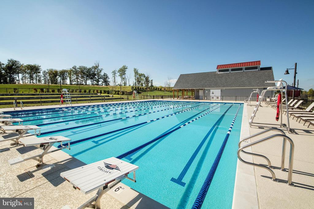 Competition Pool - 1040 RIVER HERITAGE BLVD, DUMFRIES