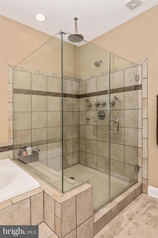 Large glass shower. - 20118 ONEALS PL, HAGERSTOWN