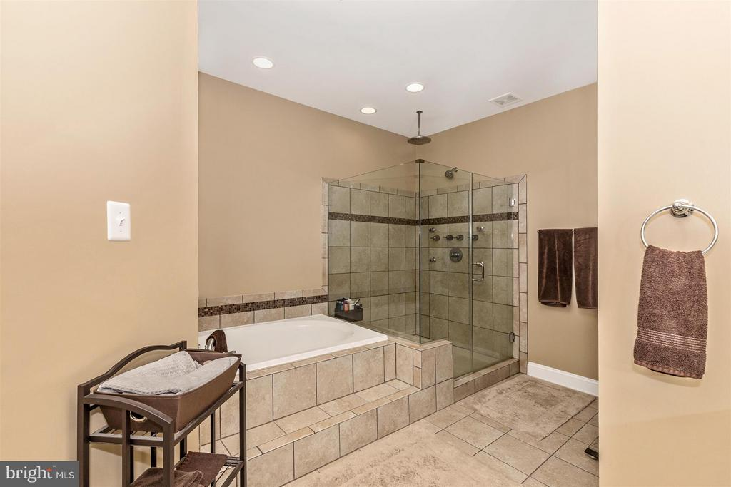 Relax in the soaking tub. - 20118 ONEALS PL, HAGERSTOWN
