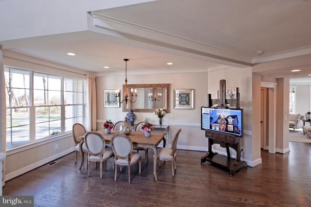 Dining Room - PENINSULA CT, ROUND HILL