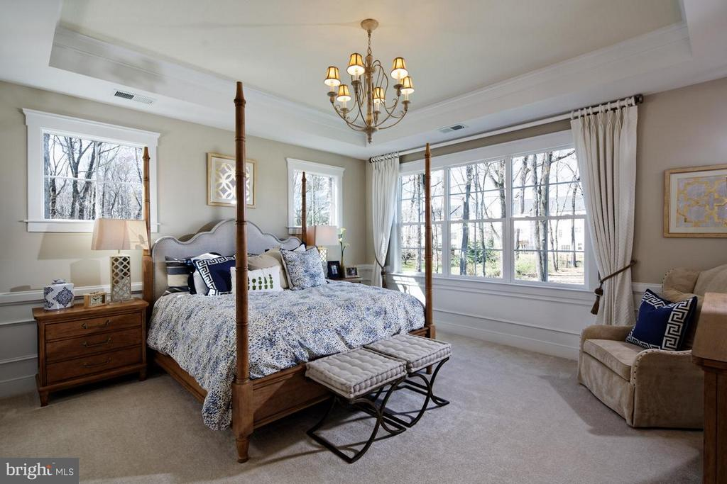Bedroom (Master) - PENINSULA CT, ROUND HILL