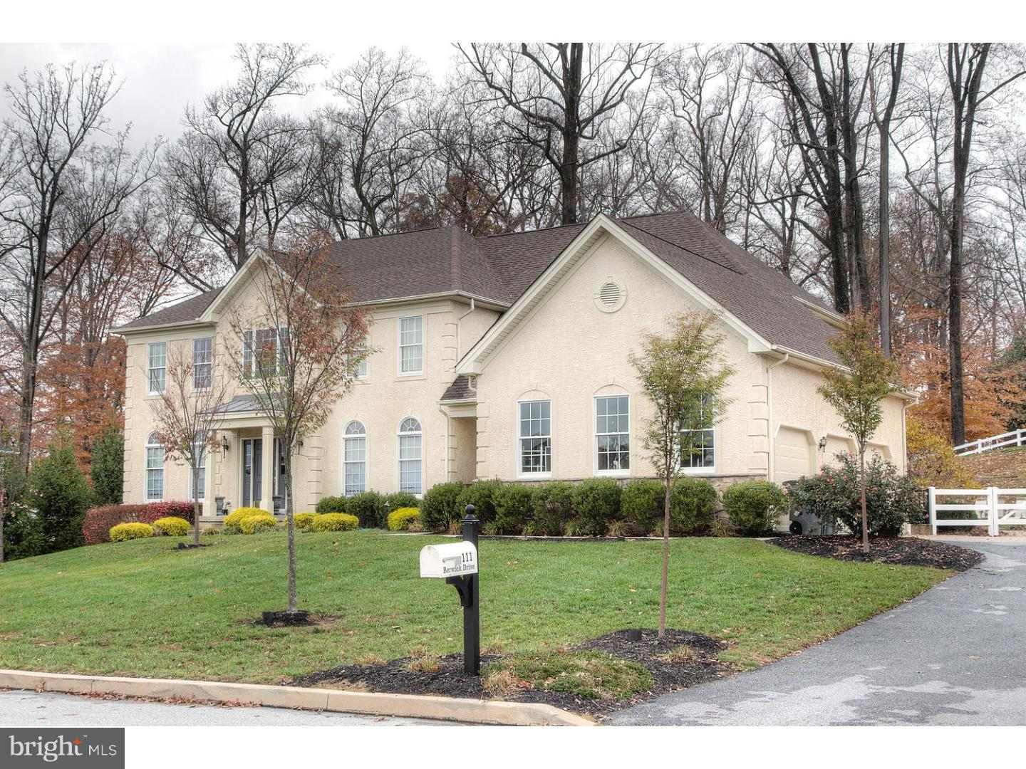 Single Family Home For Rent At 111 BERWICK Drive West Chester, Pennsylvania  19382 United States