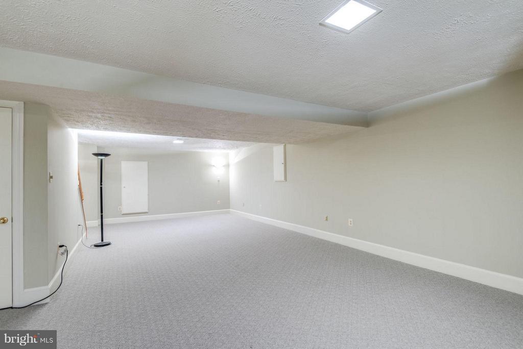 Basement Recreation Room - 47750 BRAWNER PL, STERLING