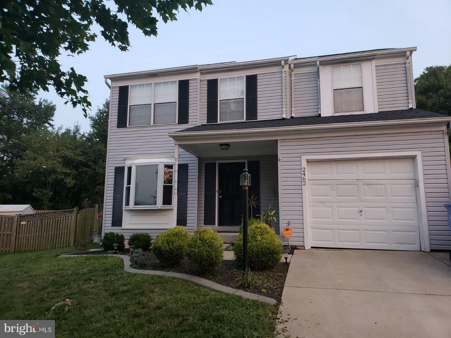 Photo of home for sale at 2462 Kipp Court, Bryans Road MD