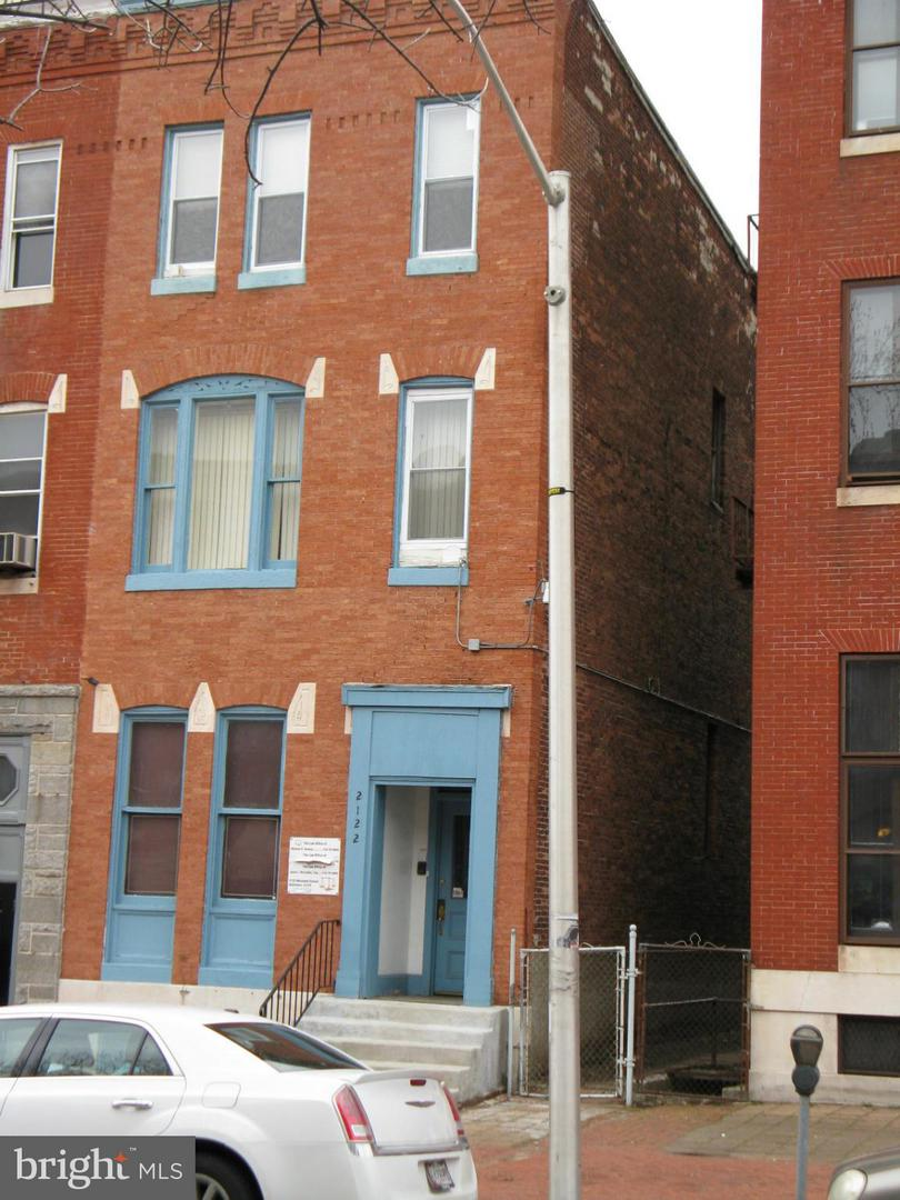 Photo of home for sale at 2122 Maryland Avenue, Baltimore MD