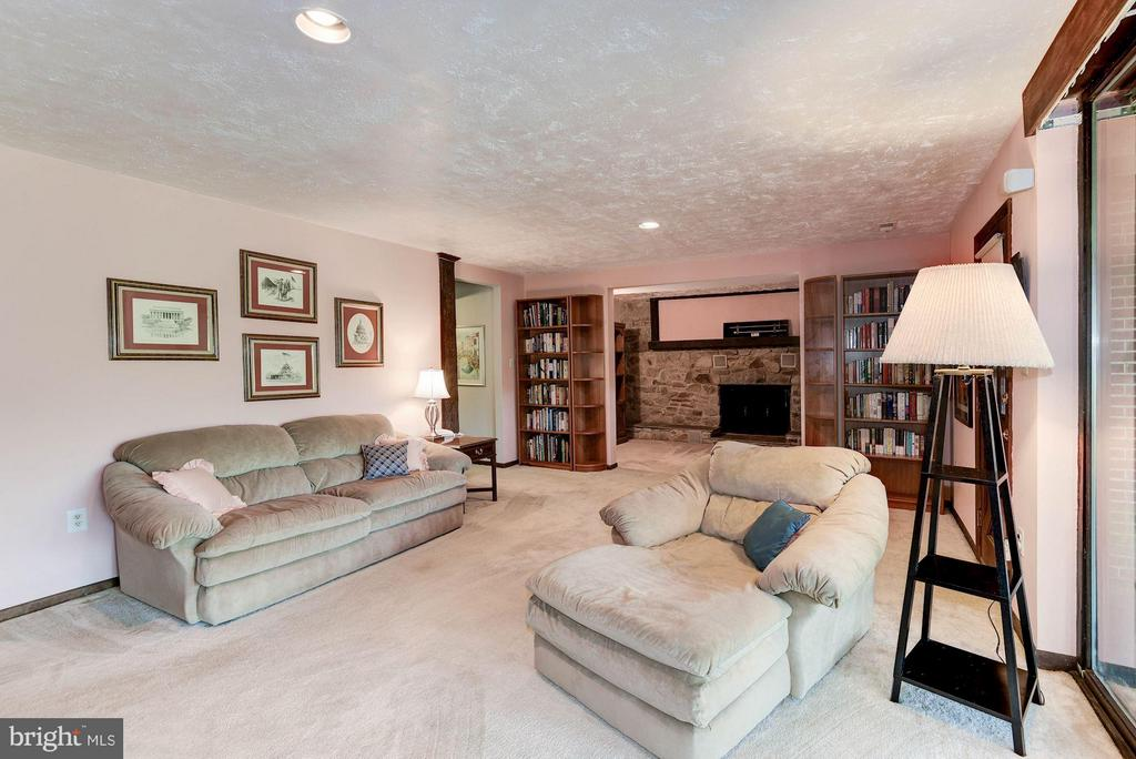 Large Rec Room with Walk Out - 8220 BRADY ST, ALEXANDRIA
