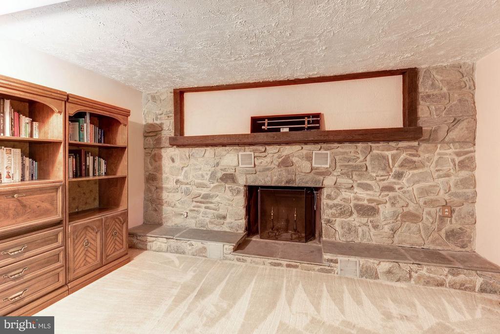 Expanded Basement Rec Room - 8220 BRADY ST, ALEXANDRIA