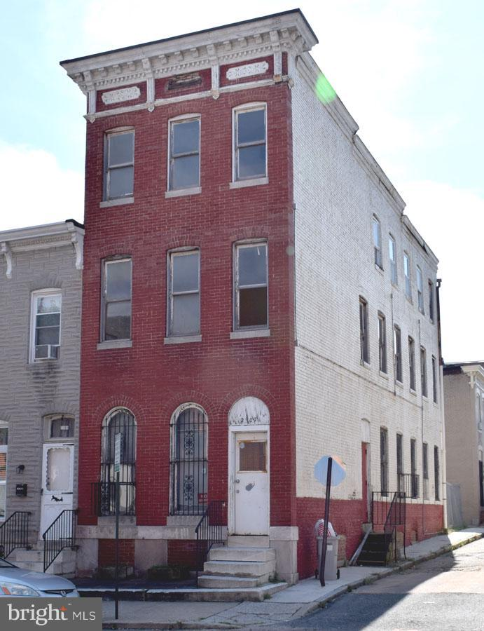 Photo of home for sale at 2107 Madison Street E, Baltimore MD