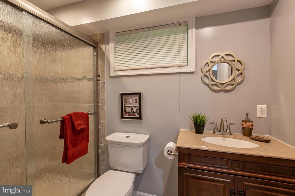 Full Bath in Basement - 16808 OAK HILL RD, SILVER SPRING