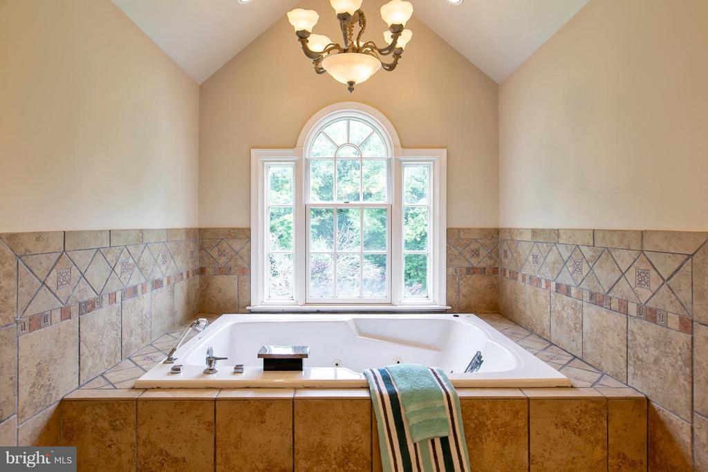 Separate Soaking Tub in Masterbath - 16808 OAK HILL RD, SILVER SPRING