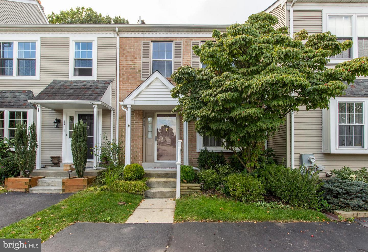 Photo of home for sale at 2468 Hillendale Drive, Norristown PA