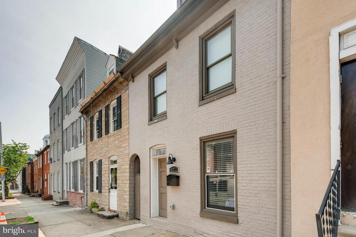 Single Family for Sale at 504 Wolfe St Baltimore, Maryland 21231 United States