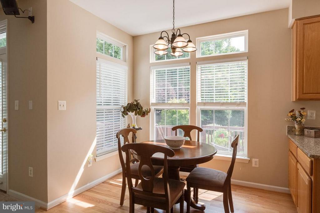 Start your day in this light filled nook - 19101 ABBEY MANOR DR, BROOKEVILLE
