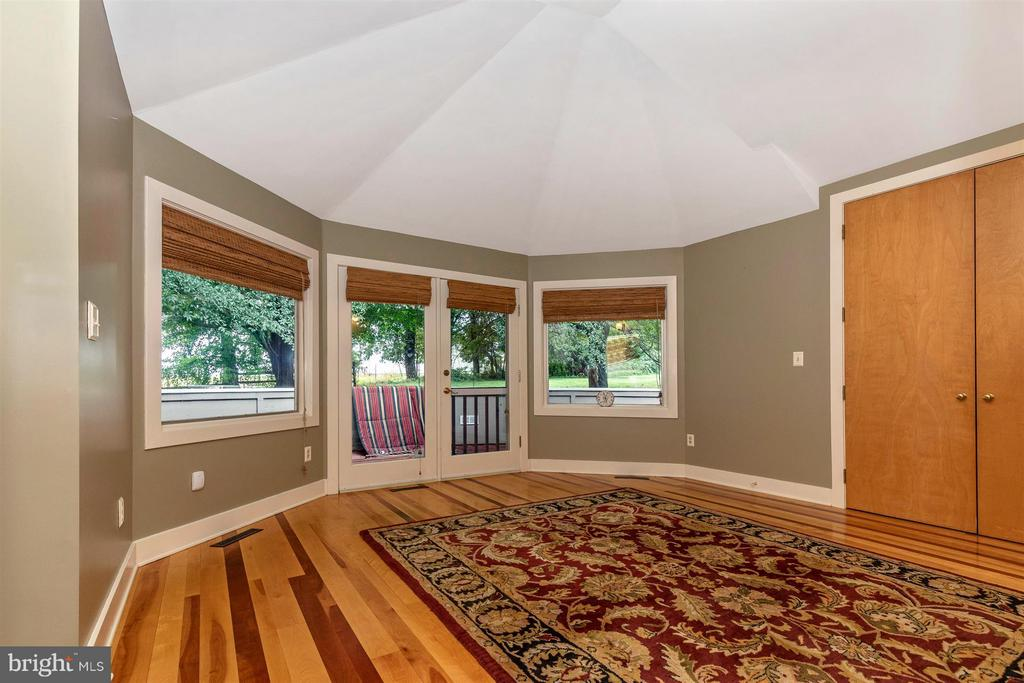 Main Level Master Bedroom - Private Deck - 6303 WINPENNY DR, FREDERICK