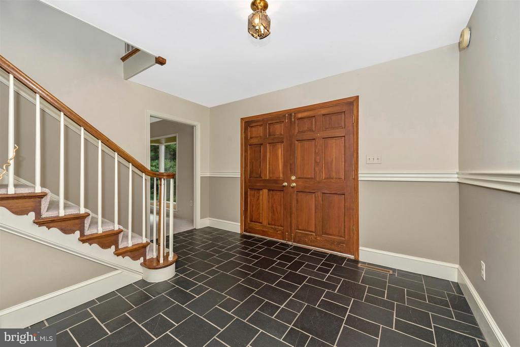 Solid wood double doors! - 12403 HILL CT, MOUNT AIRY