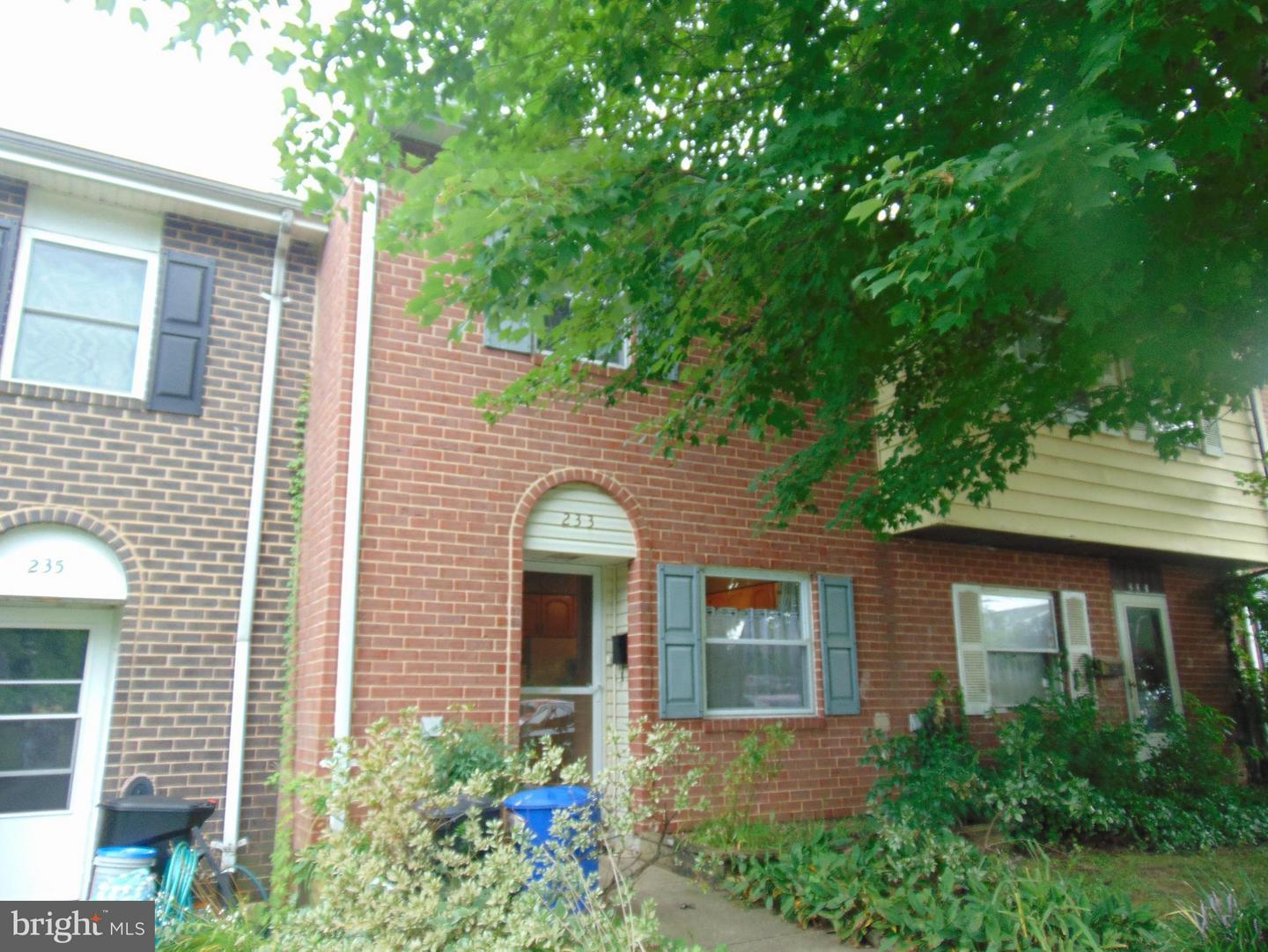 Other Residential for Rent at 233 Foster Knoll Dr Joppa, Maryland 21085 United States