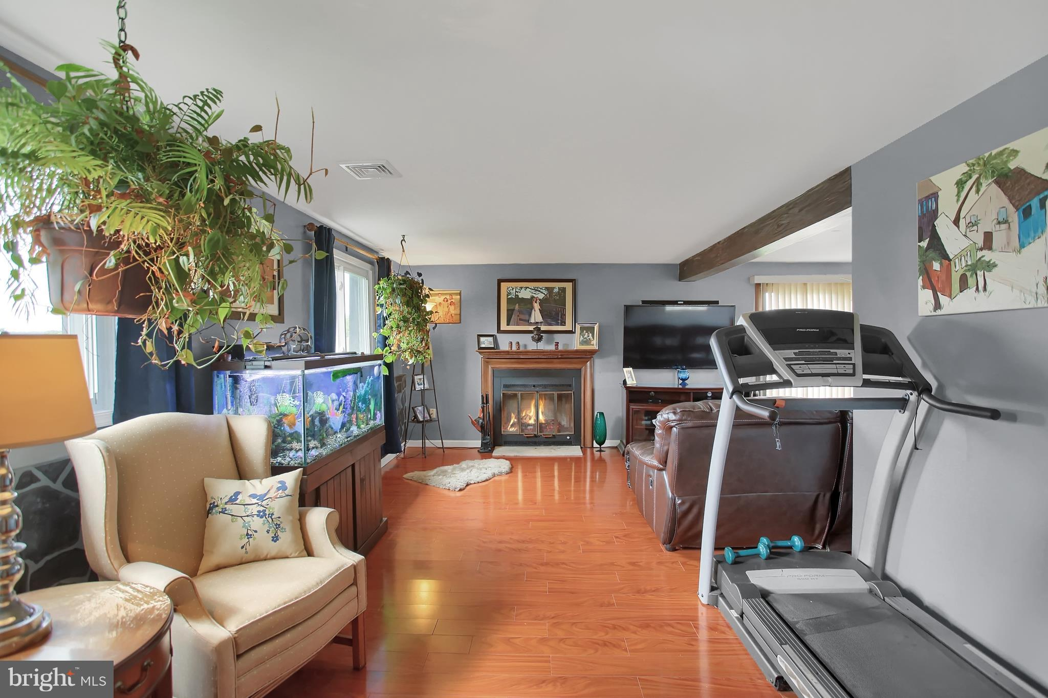 Family Room has Fireplace
