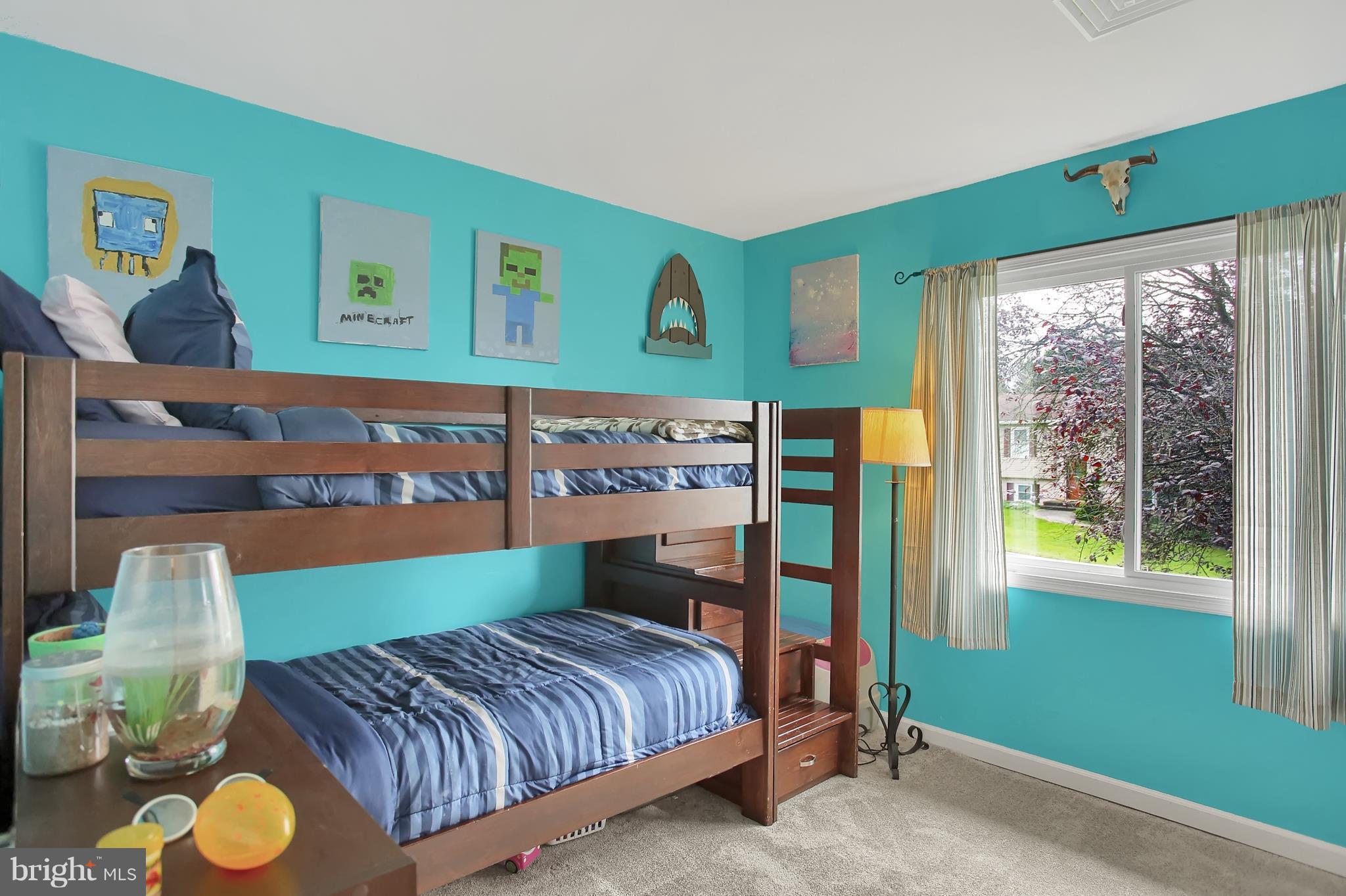 Bedroom # 3 , new carpet